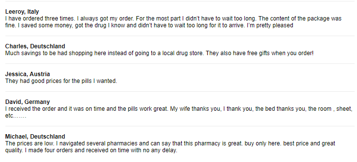 Pharmacy Mall Customer Reviews